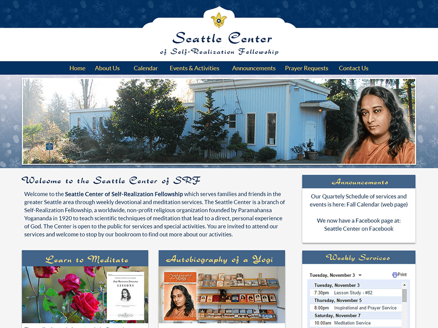 Seattle Center of Self-Realization Fellowship