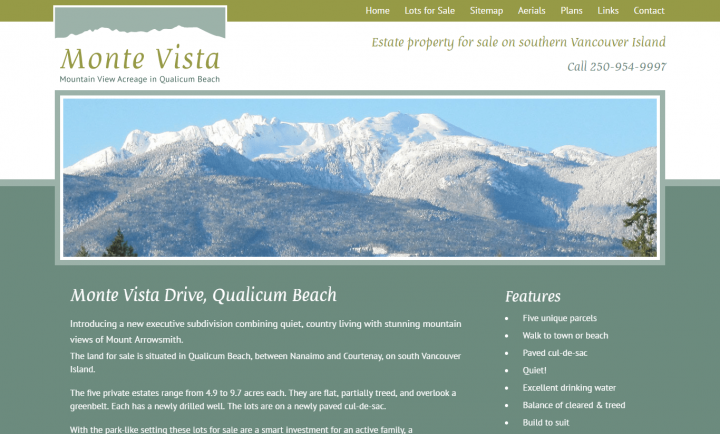 Monte Vista - Responsive Web Design and Development