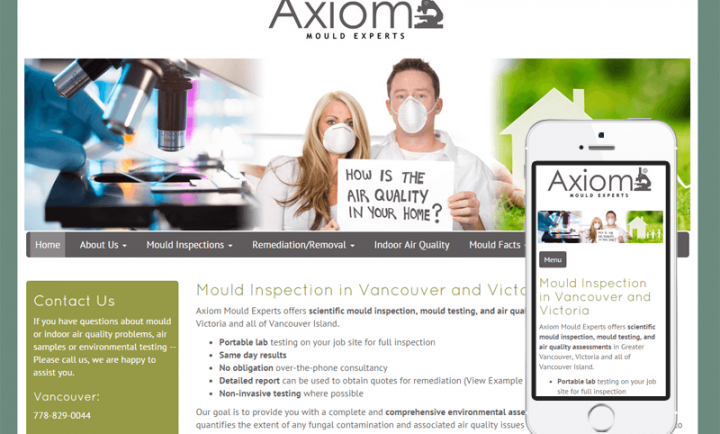 Axiom Mould Experts - Responsive Web Design and Development