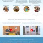 Harmony Health Care Home Page